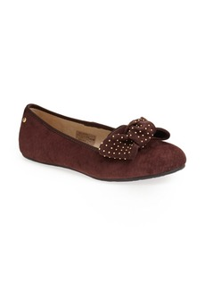 UGG® Australia 'Alloway -Studded Bow' Flat (Women)