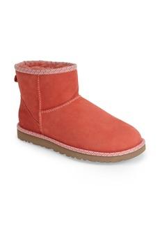 UGG® Australia 'Classic Mini Scallop' Leather Boot (Women)