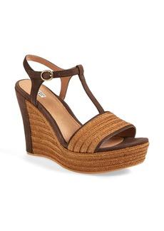 UGG® Australia 'Fitchie' T-Strap Wedge Sandal (Women)