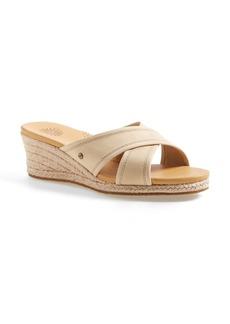 UGG® Australia 'Gwyn' Espadrille Wedge Sandal (Women)