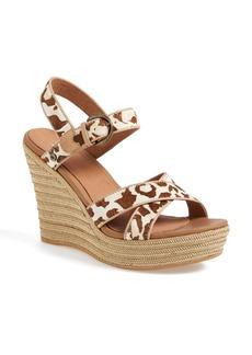 UGG® Australia 'Jazmine' Leopard Print Sandal (Women)