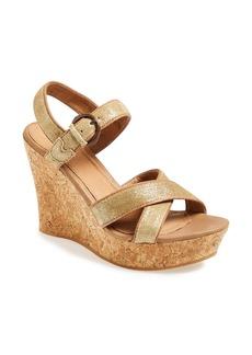 UGG® Australia 'Jazmine' Platform Wedge Sandal (Women)