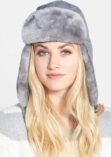 UGG® Australia 'Lorien' Water Resistant Genuine Shearling Trapper Hat