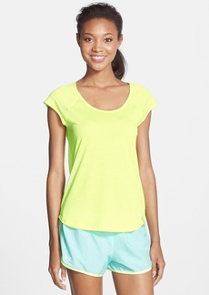 Under Armour 'Fly By' Cutout Mesh Back Tee