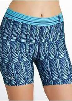 Under Armour HeatGear Alpha Printed Mid Compression Shorts