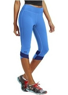 Under Armour HeatGear Fly-By Compression Capri Leggings