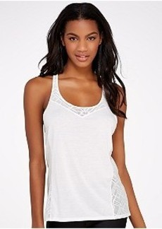 Under Armour HeatGear Stunner Lace Tank