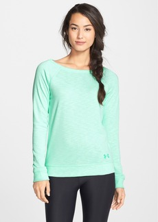 Under Armour 'Kaleidalogo Solid' French Terry Top