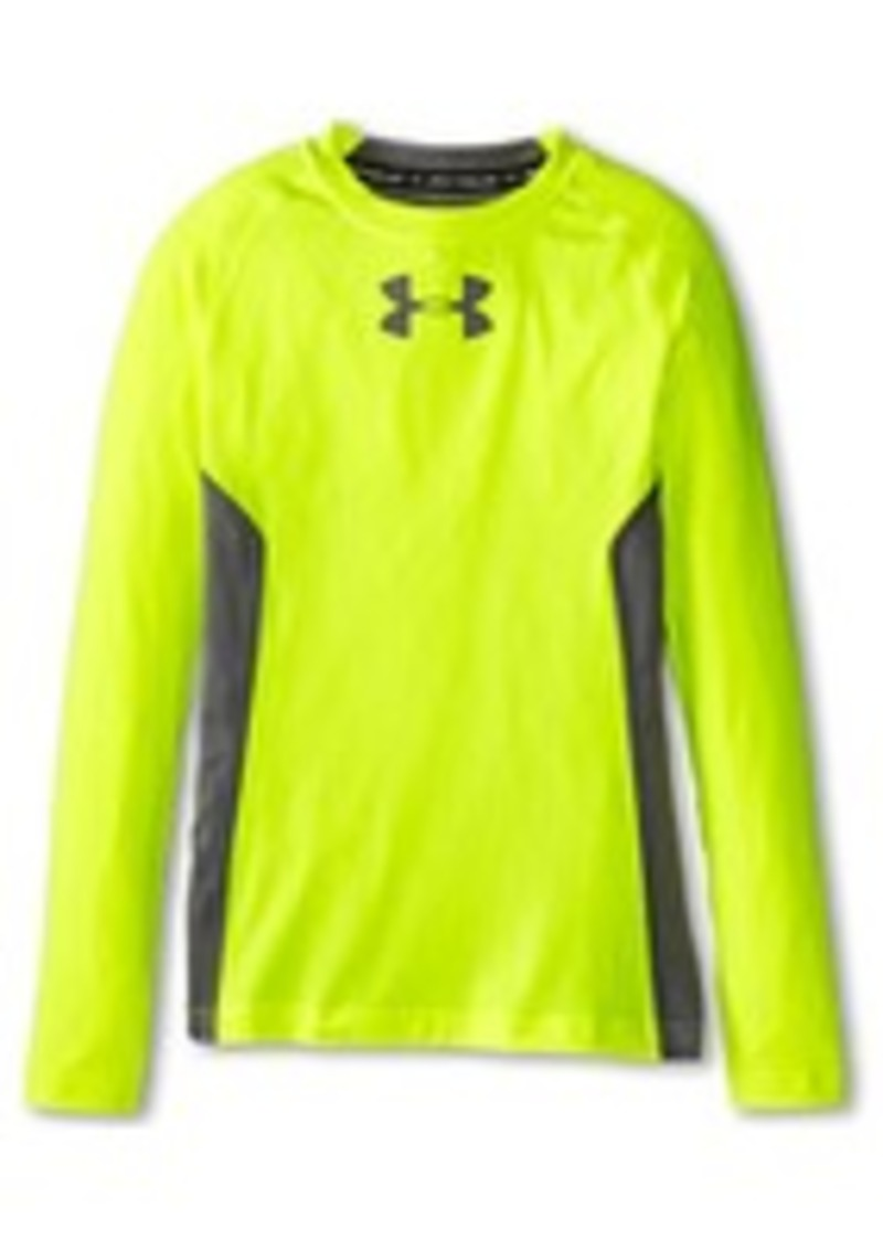Under Armour Kids Armour Up Heatgear Fitted L S Tee Big