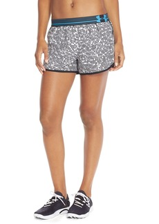 Under Armour 'Perfect Pace' Print Shorts