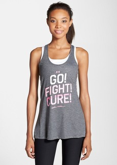 Under Armour 'Power in Pink - Go! Fight! Cure!' Tank