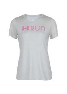 Under Armour Run Lockup Shirt - Short-Sleeve - Women's