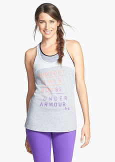 Under Armour 'Wordmark - Protect This House' Charged Cotton® Tank