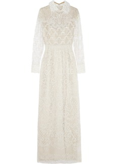 Valentino Beaded tulle gown