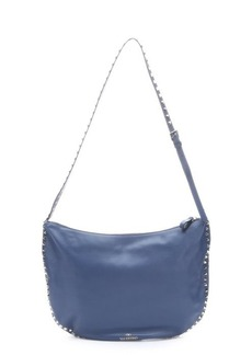 Valentino bluette leather 'Rockstud' shoulder bag
