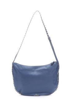 Valentino bluette leather 'Rockstud' shoulder bag