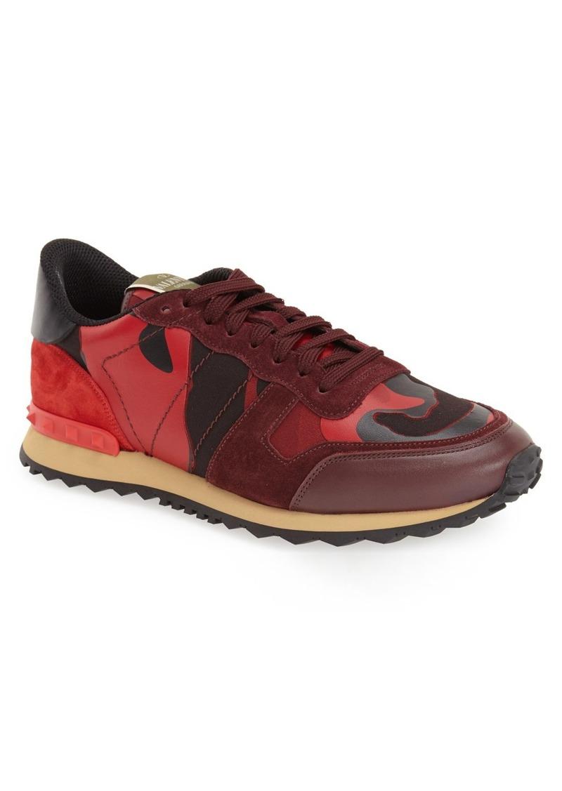 valentino valentino 39 rockrunner 39 camo sneaker men shoes shop it to me. Black Bedroom Furniture Sets. Home Design Ideas