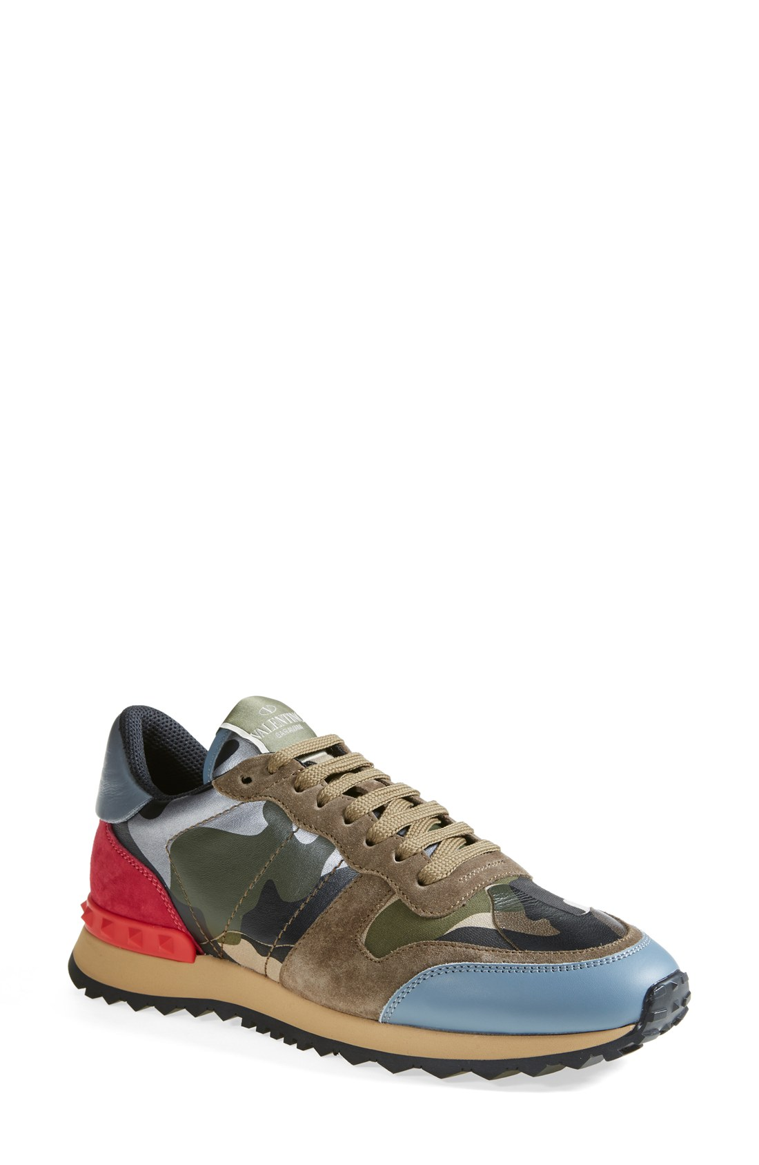 valentino valentino camouflage sneaker women sizes 8 5 8 9 5 and 10 shop it to me all. Black Bedroom Furniture Sets. Home Design Ideas
