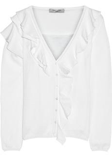 Valentino Cotton-blend cardigan and tank set