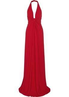 Valentino Crepe halterneck gown