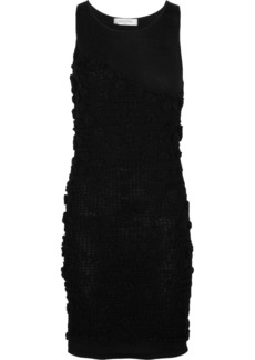 Valentino Crochet-knit cotton dress