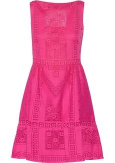 Valentino Crocheted cotton-blend dress