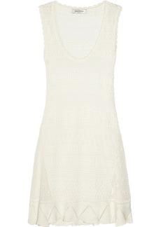 Valentino Crocheted cotton mini dress