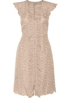 Valentino Embroidered silk dress