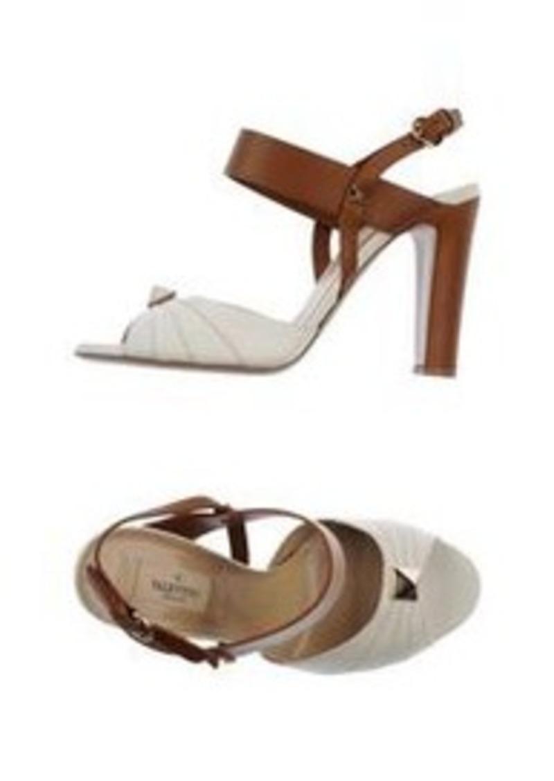 valentino valentino garavani sandals shoes shop it to me. Black Bedroom Furniture Sets. Home Design Ideas