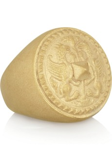 Valentino Gold-tone gryphon ring