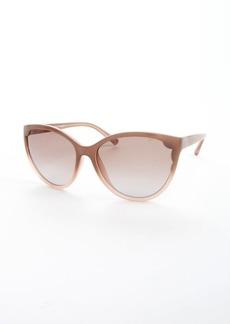Valentino gradient poudre cat eye sunglasses
