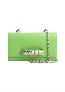Valentino green leather 'Va Va Voom' convertible shoulder bag