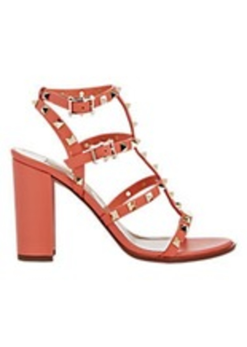valentino valentino rockstud triple strap sandals shoes shop it to me. Black Bedroom Furniture Sets. Home Design Ideas