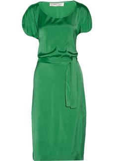 Valentino Satin-twill dress