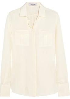 Valentino Silk-crepe shirt