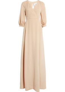 Valentino Silk-twill gown