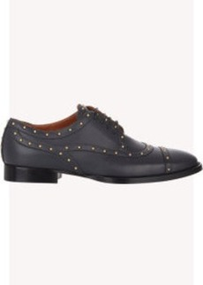 Valentino Studded Lace-Up Oxfords