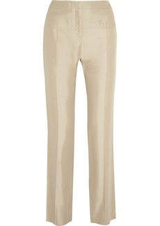 Valentino Twill straight-leg pants