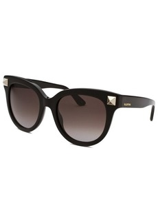 Valentino Women's Black Cat Eye Sunglasses