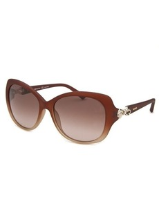 Valentino Women's Butterfly Red Gradient Sunglasses