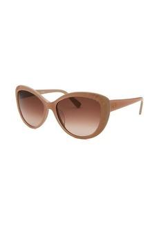 Valentino Women's Cat Eye Blush Sunglasses