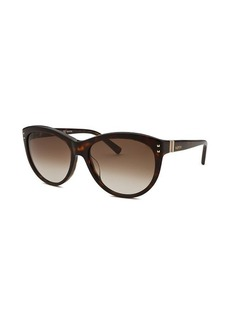 Valentino Women's Cat Eye Havana Sunglasses