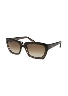 Valentino Women's Cat Eye Taupe Sunglasses