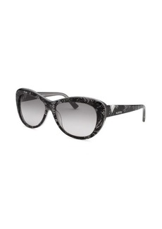 Valentino Women's Cat Eye White Sunglasses