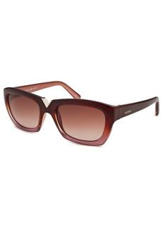 Valentino Women's Cat Eye Wine Red Sunglasses