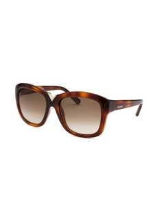 Valentino Women's Havana Cat Eye Sunglasses