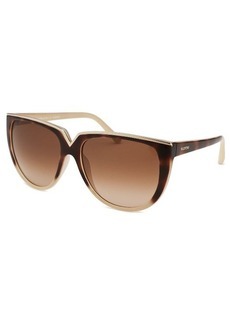 Valentino Women's Round Two-Tone Sunglasses