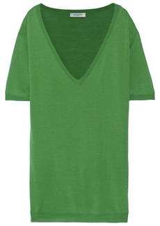 Valentino Wool and silk-blend sweater