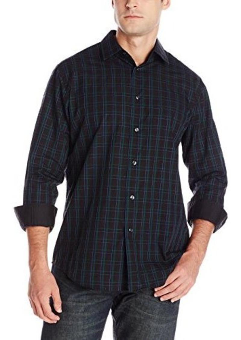 Van heusen van heusen men 39 s long sleeve plaid night dobby for Van heusen plaid shirts