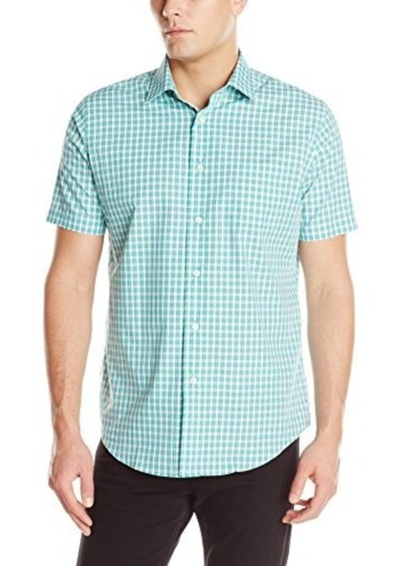 van heusen van heusen men 39 s short sleeve no iron small